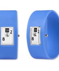 Too Late analog lavender siliconen horloge van 2toolate Gratis verzending