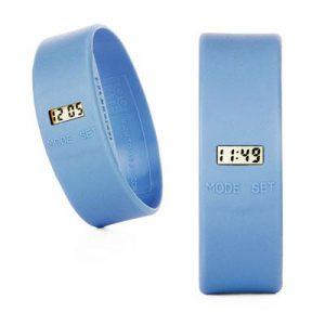TOOLATE siliconen horloge Original Light blue