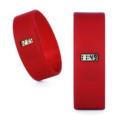 TOOLATE siliconen horloge Original Red