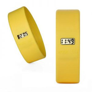 TOOLATE siliconen horloge Original Yellow