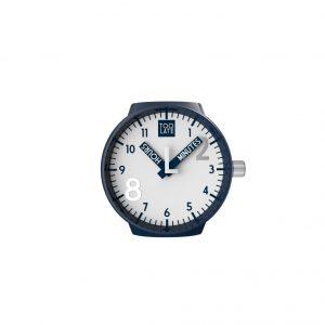 Mash-up Lord Medium Blue nummers uurwerk Ø 40 mm