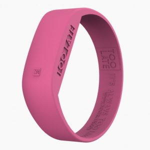 Led Watch Original Fuchsia van 2Toolate een Trendy siliconen horloge