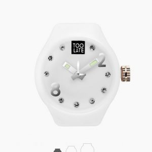 Mash-up Lord Small White Strass Ø27mm