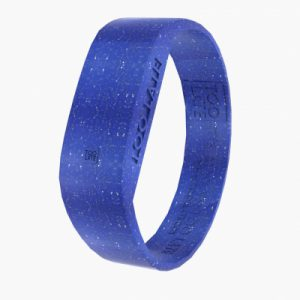 Het siliconen horloge Led Watch Original GLITTER ELECTRO BLUE