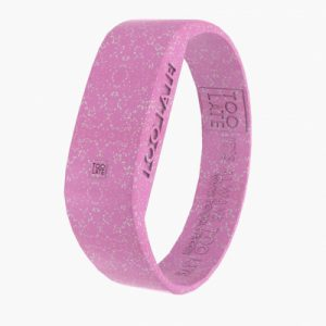 2Toolate Led Watch Original GLITTER PINK Siliconen armband met klok