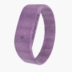 Led Watch Original GLITTER VIOLET van 2Toolate is waterdicht