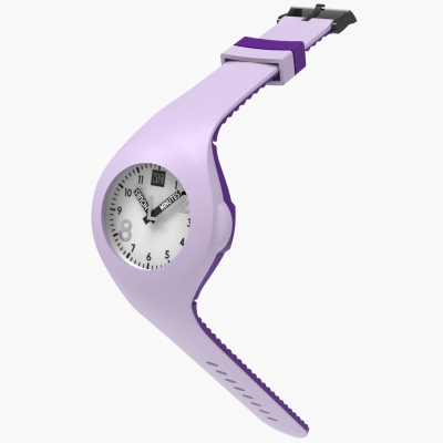 Mash up Bicolor Lilac violet met ijzersterk digitaal uurwerk van Toolate