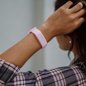 LED WATCH ONE Pastel Pink horloge
