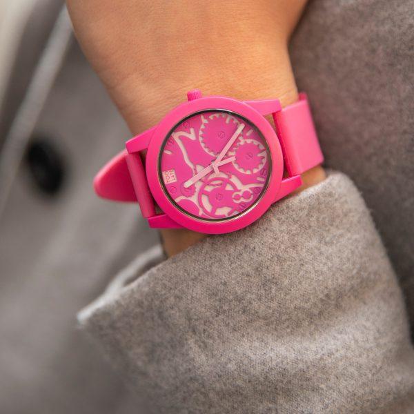 TOO LATE Watch JOY FUCSIA Pink horloge