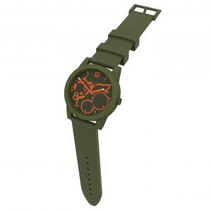 TOO LATE Watch JOY Army Green Orange Ø39mm