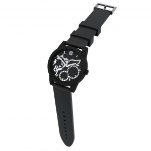 TOO LATE Watch JOY BLACK Silver Ø39 mm