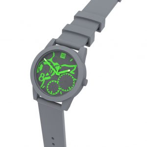 TOO LATE Watch JOY GREY ACD GREEN Ø39 mm
