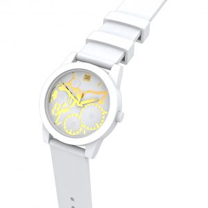 TOO LATE Watch JOY WHITE Gold Ø39 mm