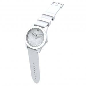 TOO LATE Watch JOY WHITE Silver Ø39mm