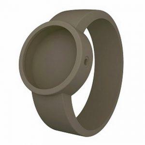 OCLOCK siliconen horlogebandje Donkergrijs