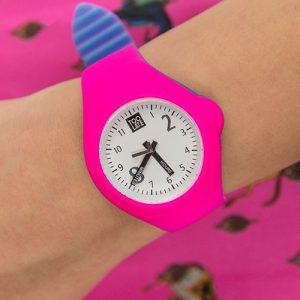 Mash up Bicolor Medium Ø 40 mm Acdpink Acdblue horloge