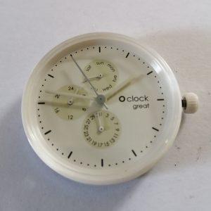 O'CLOCK Great uurwerk model nr7 afmeting Ø 40 mm Trendy horloge