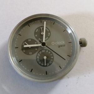 O clock Great uurwerk: groter, meer functies en een fraai design. Kies of mix en match met de Great bandjes, it's Great!