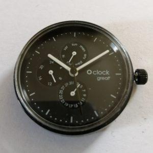 O'CLOCK Great uurwerk Model nr9 Ø40 mm